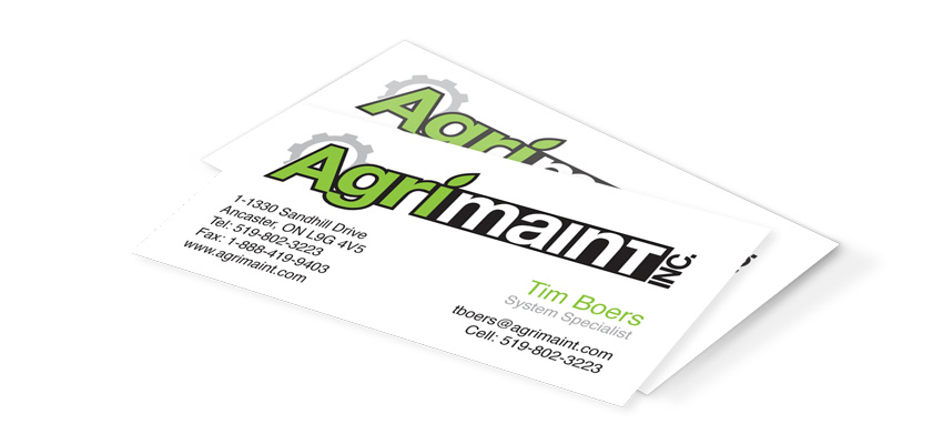 Agrimaint Business Cards