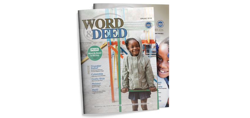 Word & Deed Covers